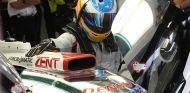 Fernando Alonso en su test con Toyota - SoyMotor