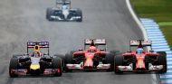 """Vettel: """"Hoy ha sido divertido con Alonso, empezamos donde lo dejamos en Silverstone"""" - LaF1.es"""