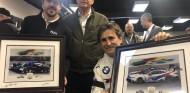 Alonso y Zanardi, con Jim France, presidente de la IMSA - SoyMotor.com