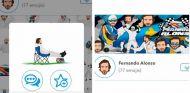 Fernando Alonso crea una colección de emoticonos propios - SoyMotor.com