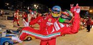 Fernando Alonso y Giancarlo Fisichella en el Ferrari Wroom de 2013 – SoyMotor.com