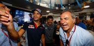 Alonso y los Sainz, juntos en un coche de kartcross