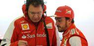 Tombazis asegura que su única preocupación es no haber visto a Alonso ganar con Ferrari - LaF1