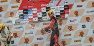 Antolín González en el podio en China - SoyMotor.com