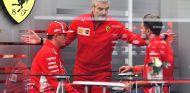 Arrivabene, Ráikkönen y Vettel en Japón - SoyMotor