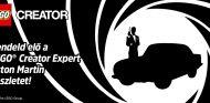 Para sentirte como James Bond, nada mejor que Aston Martin DB5, aunque sea de Lego