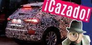 El Audi Q3 oculto bajo los vinilos de camuflaje en las cercanías de las instalaciones de Audi en Málaga - SoyMotor
