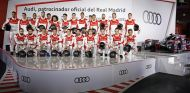 El Real Madrid recoge sus nuevos Audi en el karting Carlos Sainz - SoyMotor.com