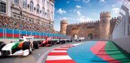 Así será el circuito de Bakú para el GP de Europa de 2016