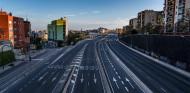 Acceso a Barcelona por la avenida Meridiana - SoyMotor.com