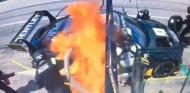 Susto para Soucek: incendio durante una parada en el World Challenge America - SoyMotor.com