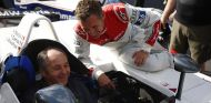 Gerhard Berger en el pasado Gran Premio de Austria - SoyMotor