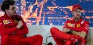 Binotto anuncia que ya ha comenzado a negociar con Vettel - SoyMotor.com