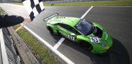 Lamborghini, victoriosa en Brands Hatch en la Blancpain GT Series