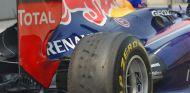 Uno de los neumáticos de Mark Webber con blistering - LaF1