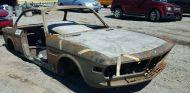 A subasta la carrocería quemada de un BMW 3.0 CS -