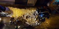 Un BMW i3 REx se incendia en Barcelona - SoyMotor.com