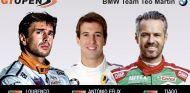 Los tres nuevos piloto del BMW Team Teo Martin –SoyMotor.com