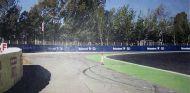 El bolardo que la FIA ha instalado en la entrada de la Curva 3 - SoyMotor
