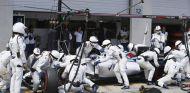 Valtteri Bottas haciendo un pit stop durante el GP de Austria - LaF1