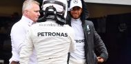 Valtteri Bottas y Lewis Hamilton en Brasil - SoyMotor.com