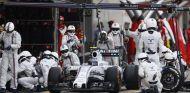 En Williams no fueron muy rápido en boxes en Japón y perdieron su lucha con Räikkönen - LaF1