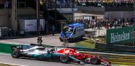 Valtteri Bottas y Sebastian Vettel en Brasil - SoyMotor.com