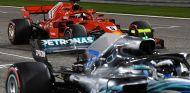 Valtteri Bottas y Sebastian Vettel en Baréin - SoyMotor.com