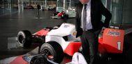 Eric Boullier en Woking - LaF1