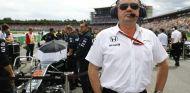 Eric Boullier en la parrilla de Alemania - LaF1