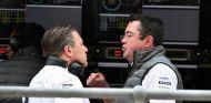 Zak Brown (izq.) y Eric Boullier (der.) – SoyMotor.com