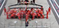 Parada del equipo Ferrari en Interlagos – SoyMotor.com