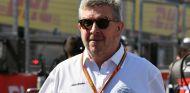 Ross Brawn durante un GP esta temporada - SoyMotor.com