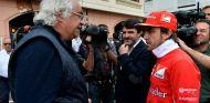Ecclestone quiere a Alonso en Ferrari, y Briatore no lo descarta - SoyMotor.com