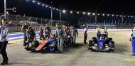 Manor y Sauber en el GP de Singapur 2016 - SoyMotor