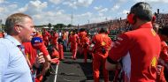 Martin Brundle y Maurizio Arrivabene en Hungaroring - SoyMotor.com