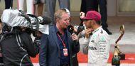 Brundle en su entrevista con Hamilton durante el GP de Mónaco - SoyMotor