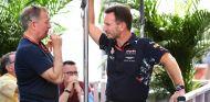 Martin Brundle y Christian Horner en Austin - SoyMotor.com