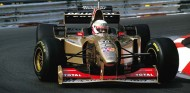 Martin Brundle, con el Jordan 196 en Mónaco - SoyMotor.com