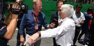 Brundle entrevista a Bernie Ecclestone en Interlagos - SoyMotor