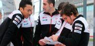 Kazuki Nakajima, Sébastien Buemi y Fernando Alonso - SoyMotor.com