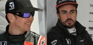 Kurt Busch y Fernando Alonso - SoyMotor