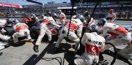 Pît stop de Jenson Button
