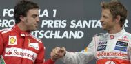 ¿Button o Magnussen? Alonso se decanta más por Jenson a su lado
