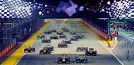 Salida del Gran Premio de Singapur - LaF1