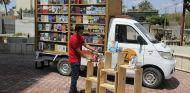Camión librería en Bagadad - SoyMotor.com