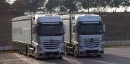 Los camiones de McLaren, fotografiados el 28 de enero - LaF1