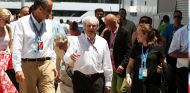 Francisco Camps  y Bernie Ecclestone en 2011 - SoyMotor.com