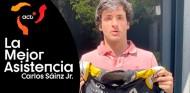 Sainz subasta su mono Renault de Abu Dabi 2018 por el coronavirus - SoyMotor.com