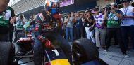 Carlos Sainz tras proclamarse campeón de la World Series by Renault - LaF1